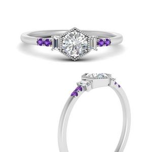 hexagon-halo-baguette-engagement-purple-topaz-ring-in-FD9930RORGVITOANGLE3-NL-WG