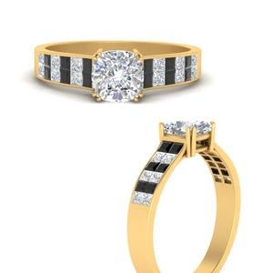 princess-cut-2-row-engagement-ring-with-black-diamond-in-FD9935CURGBLACKANGLE3-NL-YG