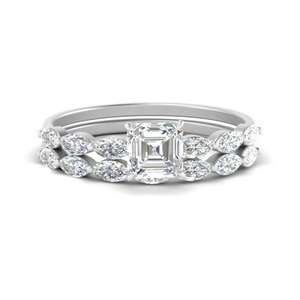 asscher-cut-single-prong-marquise-diamond-engagement-ring-and-band-in-FD9939AS-NL-WG