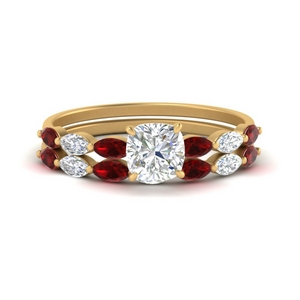 cushion-cut-single-prong-marquise-ruby-engagement-ring-and-band-in-FD9939CUGRUDR-NL-YG