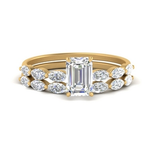 emerald-cut-single-prong-marquise-diamond-engagement-ring-and-band-in-FD9939EM-NL-YG