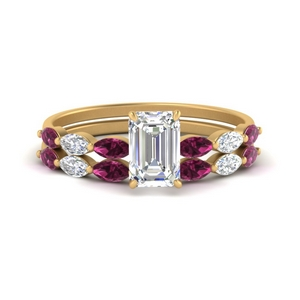 emerald-cut-single-prong-marquise-pink-sapphire-engagement-ring-and-band-in-FD9939EMGSADRPI-NL-YG