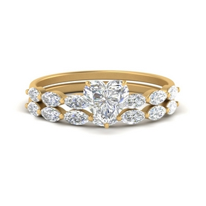 heart-shaped-single-prong-marquise-diamond-engagement-ring-and-band-in-FD9939HT-NL-YG