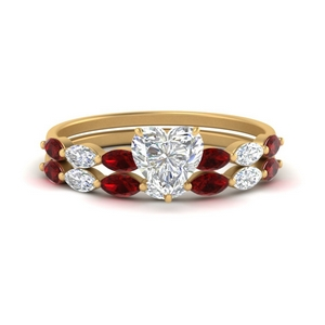 heart-shaped-single-prong-marquise-ruby-engagement-ring-and-band-in-FD9939HTGRUDR-NL-YG