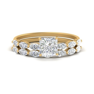princess-cut-single-prong-marquise-diamond-engagement-ring-and-band-in-FD9939PR-NL-YG