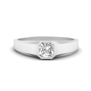 asscher-cut-bezel-set-women-wedding-ring-in-FD9943ASR-NL-WG