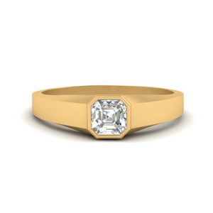 asscher-cut-bezel-set-women-wedding-ring-in-FD9943ASR-NL-YG