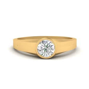 0.50-carat-round-thick-band-diamond-ring-in-FD9943ROR-NL-YG