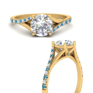 split-shank-pave-round-engagement-diamond-ring-with-blue-topaz-in-FD9963RORGICBLTOANGLE3-NL-YG