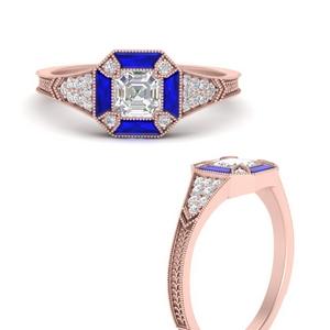 asscher-cut-georgian-sapphire-engagement-ring-in-FD9976ASRGSABLANGLE3-NL-RG