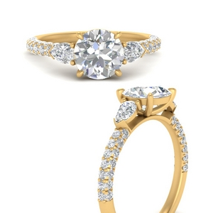 pear-accented-3-row-diamond-engagement-ring-in-FD9982RORANGLE3-NL-YG
