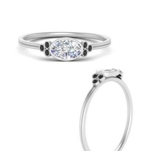 east-west-oval-bezel-cluster-delicate-black-diamond-engagement-ring-in-FD9983OVRGBLACKANGLE3-NL-WG