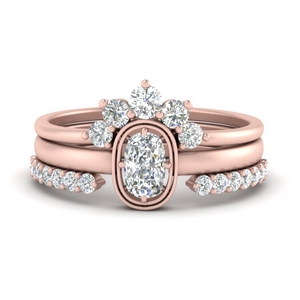 cushion-solitaire-ring-with-crown-diamond-wedding-band-in-FD9992CU-NL-RG