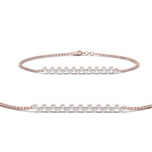Delicate Diamond Chain Bracelet