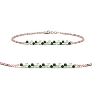 delicate-round-diamond-chain-bracelet-with-emerald-in-FDBRC9638GEMGRANGLE2-NL-RG
