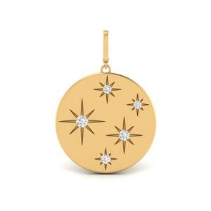 Starburst Diamond Charm