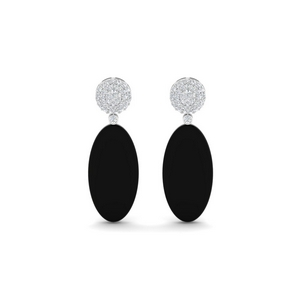 Black Onyx Cocktail Earring