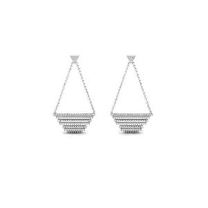 Geometric Chandelier Earring