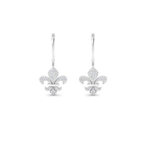 fleur-de-lis drop-diamond-earring-in-FDEAR9692ANGLE1-NL-WG