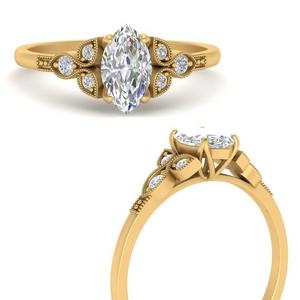 Man Made Diamond Rings