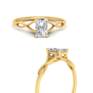 Best Radiant Cut Solitaire Ring Rings