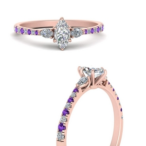 pear-3-stone-cathedral-marquise-cut-diamond-engagement-ring-with-purple-topaz-in-FDENR263MQRGVITOANGLE3-NL-RG