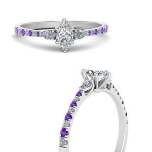 pear-3-stone-cathedral-marquise-cut-diamond-engagement-ring-with-purple-topaz-in-FDENR263MQRGVITOANGLE3-NL-WG