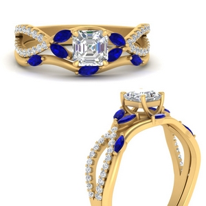 vine-willow-asscher-cut-diamond-ring-with-sapphire-willow-wedding-set-in-FDENR3211BASGSABLANGLE3-NL-YG