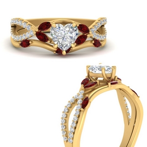 vine-willow-heart-shaped-diamond-ring-with-ruby-willow-wedding-set-in-FDENR3211BHTGRUDRANGLE3-NL-YG