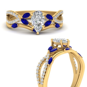 vine-willow-pear-shaped-diamond-ring-with-sapphire-willow-wedding-set-in-FDENR3211BPEGSABLANGLE3-NL-YG