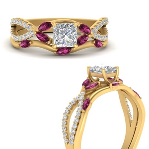 vine-willow-princess-cut-diamond-ring-with-pink-sapphire-willow-wedding-set-in-FDENR3211BPRGSADRPIANGLE3-NL-YG