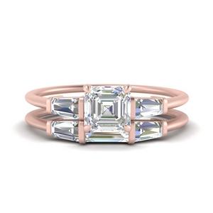asscher-cut-bar-set-diamond-ring-with-matching-3-baguette-wedding-band-in-FDENS100AS-NL-RG