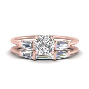 cushion-cut-bar-set-diamond-ring-with-matching-3-baguette-wedding-band-in-FDENS100CU-NL-RG