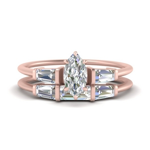 marquise-cut-bar-set-diamond-ring-with-matching-3-baguette-wedding-band-in-FDENS100MQ-NL-RG