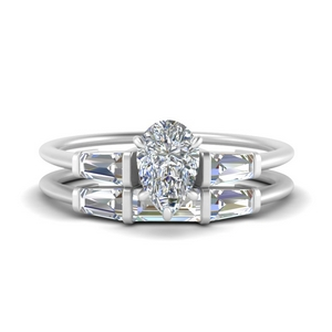 pear-shaped-bar-set-diamond-ring-with-matching-3-baguette-wedding-band-in-FDENS100PE-NL-WG