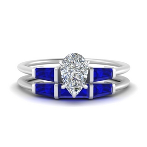 pear-shaped-bar-set-sapphire-ring-with-matching-3-baguette-wedding-band-in-FDENS100PEGSABL-NL-WG