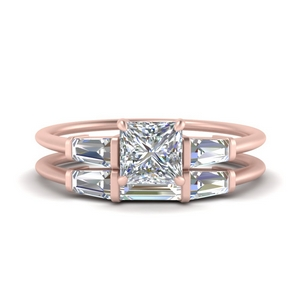 princess-cut-bar-set-diamond-ring-with-matching-3-baguette-wedding-band-in-FDENS100PR-NL-RG