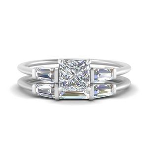 princess-cut-bar-set-diamond-ring-with-matching-3-baguette-wedding-band-in-FDENS100PR-NL-WG