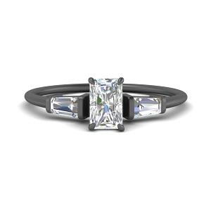 radiant-cut-baguette-3-stone-black-gold-engagement-ring-in-FDENS100RAR-NL-BG