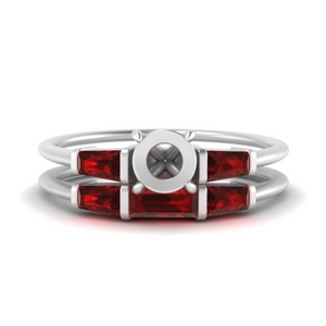 semi-mount-bar-set-ruby-ring-with-matching-3-baguette-wedding-band-in-FDENS100SMGRUDR-NL-WG