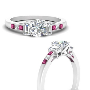 channel-set-3-stone-round-cut-engagement-ring-with-pink-sapphire-in-FDENS207RORGSADRPIANGLE3-NL-WG
