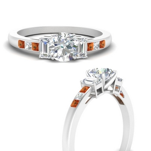 channel-set-3-stone-round-cut-engagement-ring-with-orange-sapphire-in-FDENS207RORGSAORANGLE3-NL-WG
