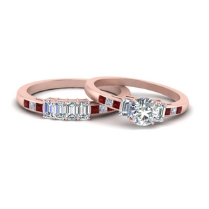 emerald-channel-set-round-cut-wedding-ring-set-with-ruby-in-FDENS207ROGRUDR-NL-RG