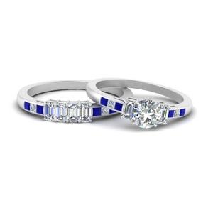 emerald-channel-set-round-cut-wedding-ring-set-with-sapphire-in-FDENS207ROGSABL-NL-WG