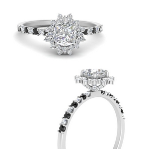 floral-art-deco-cushion-cut-engagement-ring-with-black-diamond-in-FDENS3149CURGBLACKANGLE3-NL-WG