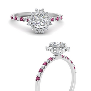 floral-art-deco-cushion-cut-diamond-engagement-ring-with-pink-sapphire-in-FDENS3149CURGSADRPIANGLE3-NL-WG