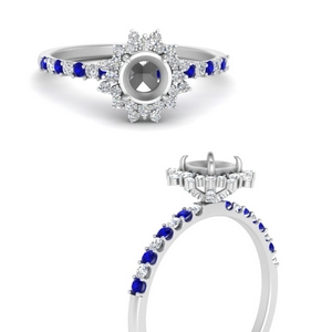 floral-art-deco-semi-mount-diamond-engagement-ring-with-sapphire-in-FDENS3149SMRGSABLANGLE3-NL-WG