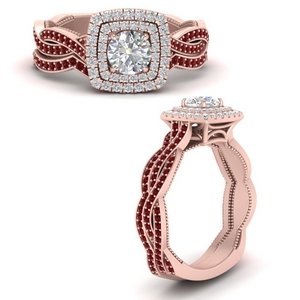 round-double-halo-twisted-ruby-wedding-rings-in-FDENS3203ROGRUDRANGLE3-NL-RG-GS