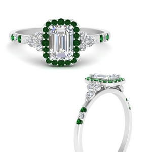 emerald-cut-halo-antique-diamond-engagement-ring-with-emerald-in-FDENS3234EMRGEMGRANGLE3-NL-WG