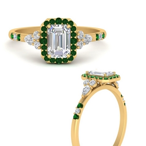 emerald-cut-halo-antique-diamond-engagement-ring-with-emerald-in-FDENS3234EMRGEMGRANGLE3-NL-YG